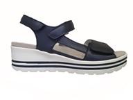 Waldlaufer 'Michelle' Strappy Sandal In Navy